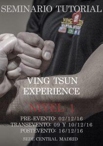 Seminario Tutorización Ving Tsun Experience Nivel 1