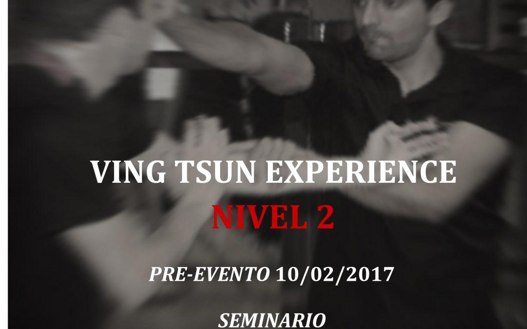 Seminario Nivel 2 de Ving Tsun Experience