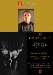 Maestro Julio Camacho en España