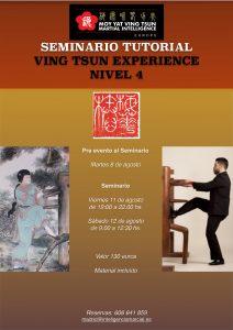 Seminario Nivel 4 Ving Tsun Experience