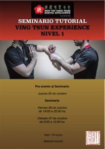 Seminario para Tutores - Nivel 1 Ving Tsun Experience - Siu Nim Tau