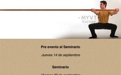 Seminario de Bastón de Ving Tsun (Wing Chun) Kung Fu