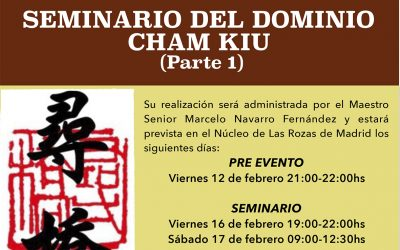 Seminario del Dominio Cham Kiu en Madrid –  España