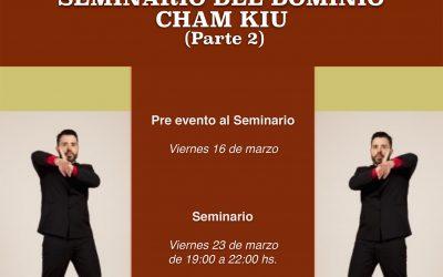 Seminario del Dominio Cham Kiu (2ªparte) de Ving Tsun Kung Fu