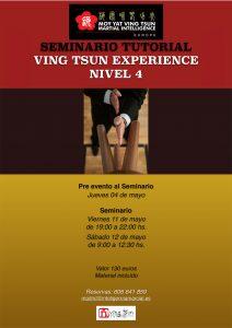 Seminario Tutorial de Ving Tsun Experience Nivel 4