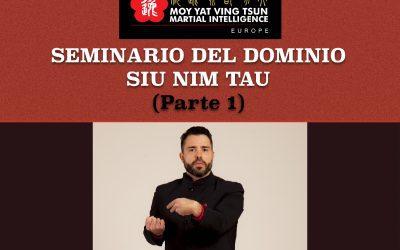 Seminario para Futuros Tutores de Siu Nim Tau